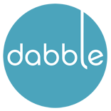 Dabble logo circle